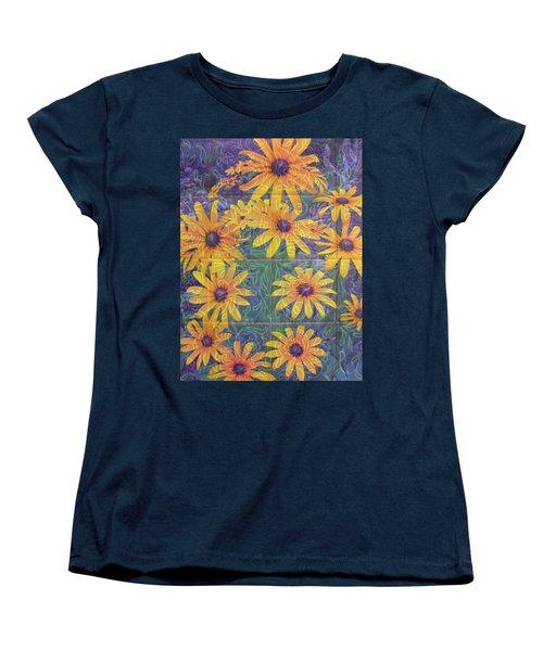 Women's T-Shirt (Standard Cut) featuring the photograph Black-eyed Susan Squared by Brooks Garten Hauschild