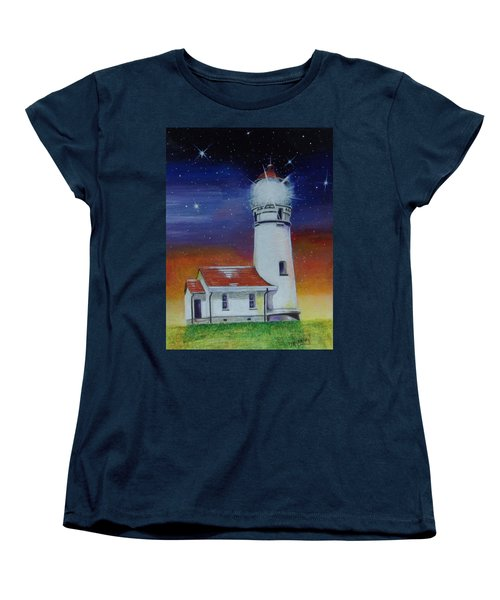 Blanco Lighthouse Women's T-Shirt (Standard Cut) by Thomas J Herring