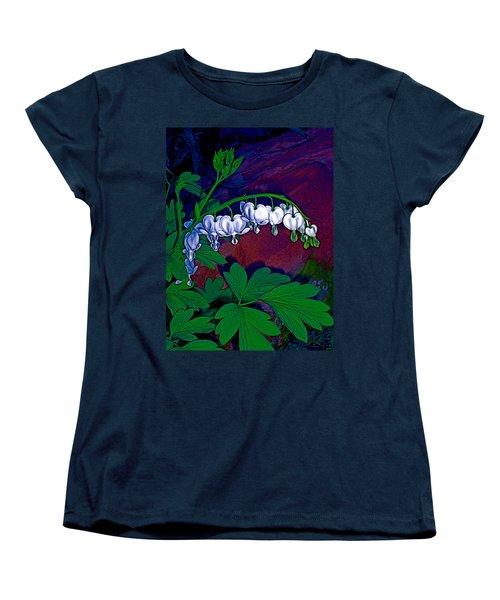 Bleeding Heart 1 Women's T-Shirt (Standard Cut) by Pamela Cooper