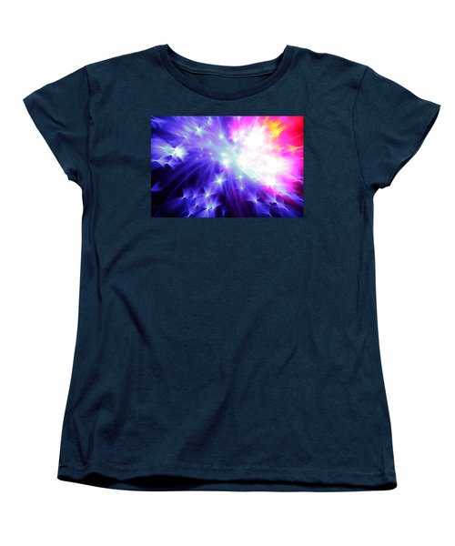 Blinded By The Light Women's T-Shirt (Standard Cut) by Dazzle Zazz