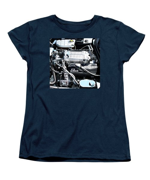 Women's T-Shirt (Standard Cut) featuring the photograph Blown 'vette Squared by Chris Thomas