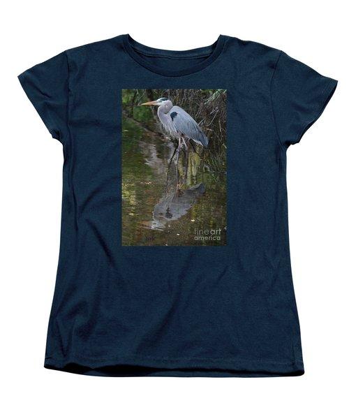 Blue 1212 Women's T-Shirt (Standard Cut) by Deborah Benoit
