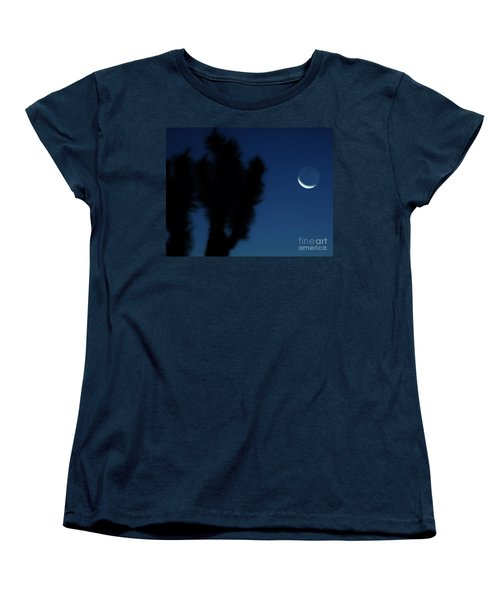 Women's T-Shirt (Standard Cut) featuring the photograph Blue by Angela J Wright