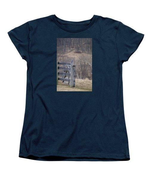 Women's T-Shirt (Standard Cut) featuring the photograph Blue Bird by Heidi Poulin