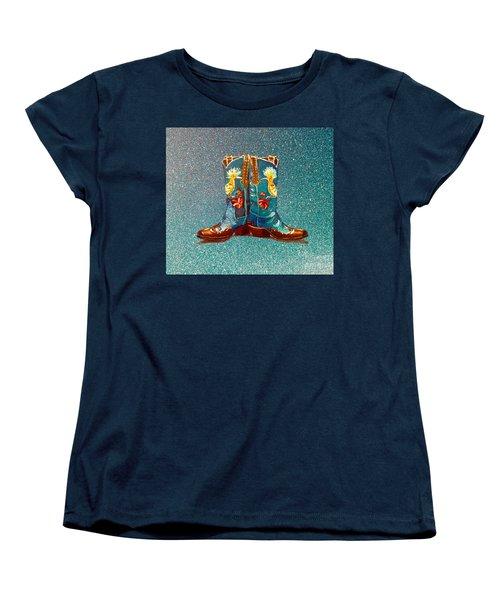 Blue Boots Women's T-Shirt (Standard Cut)