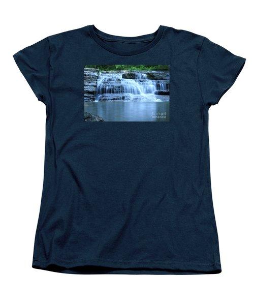 Blue Falls Women's T-Shirt (Standard Cut)