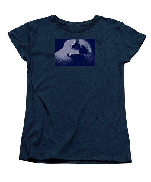Blue Guitar Women's T-Shirt (Standard Cut)