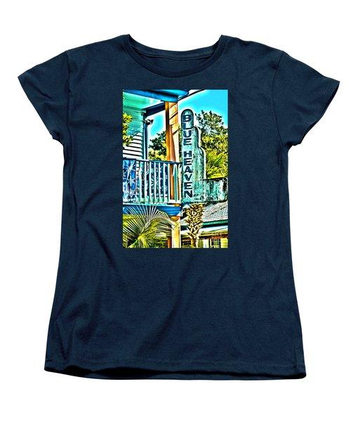 Blue Heaven In Key West - 1 Women's T-Shirt (Standard Cut)