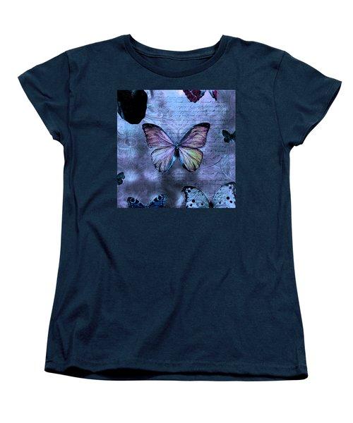 Blue Jean Baby Women's T-Shirt (Standard Cut) by Evie Carrier