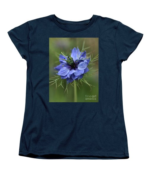 Women's T-Shirt (Standard Cut) featuring the photograph Blue Love by Joy Watson