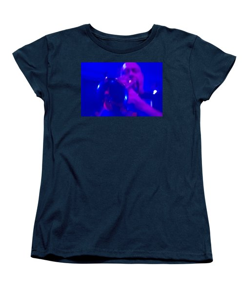 Women's T-Shirt (Standard Cut) featuring the photograph Blue Mood by Alex Lapidus