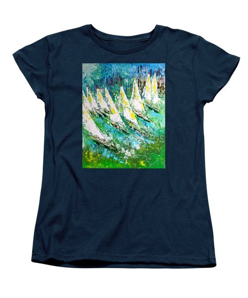 Blue Moon Chicago - Sold Women's T-Shirt (Standard Cut) by George Riney