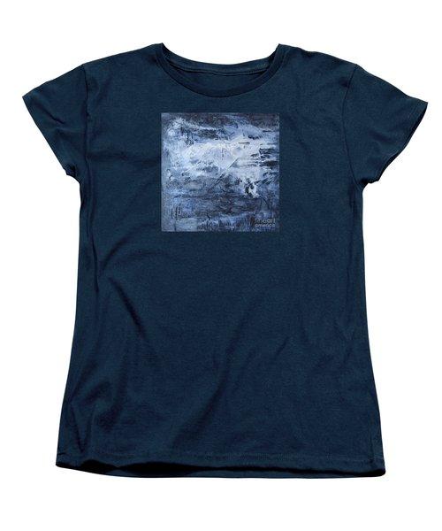 Blue Mountain Women's T-Shirt (Standard Cut) by Susan  Dimitrakopoulos