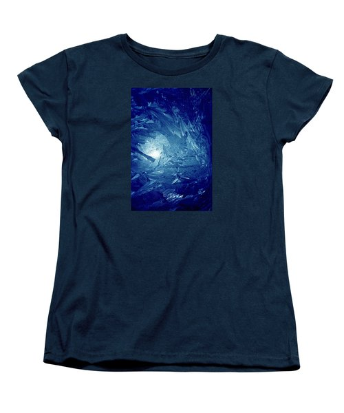 Blue Women's T-Shirt (Standard Cut) by Richard Thomas