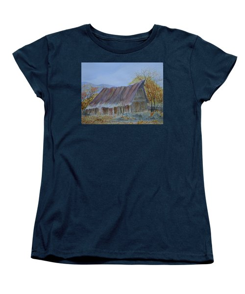 Blue Ridge Barn Women's T-Shirt (Standard Cut) by Joel Deutsch