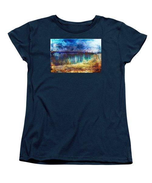 Blue Shore Women's T-Shirt (Standard Cut) by Randi Grace Nilsberg