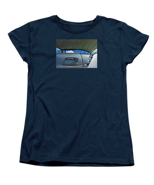 Women's T-Shirt (Standard Cut) featuring the photograph 1956 Chevy Bel Air by Linda Bianic