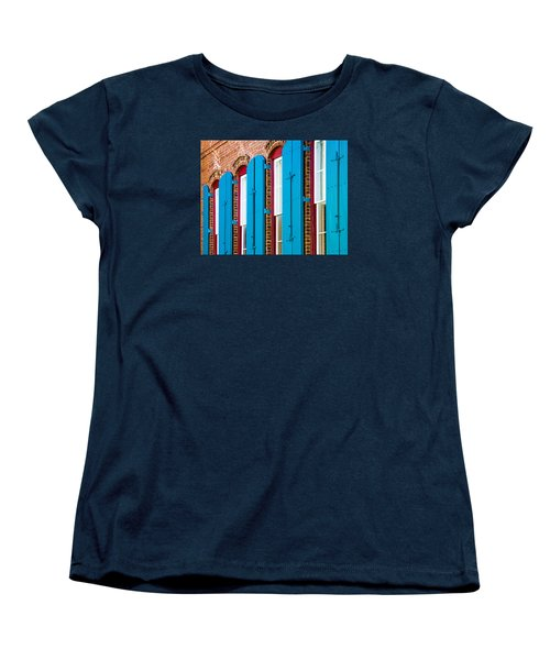 Blue Windows Women's T-Shirt (Standard Cut)