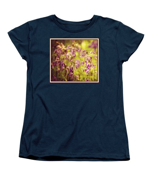 Bluebell In The Woods Women's T-Shirt (Standard Cut) by Spikey Mouse Photography