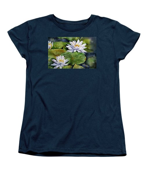 Boardwalk Lilies Women's T-Shirt (Standard Cut)