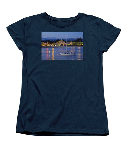 Boat At Twilight Women's T-Shirt (Standard Cut)