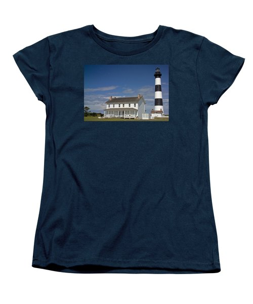 Women's T-Shirt (Standard Cut) featuring the photograph Bodie Lighthouse Obx by Greg Reed