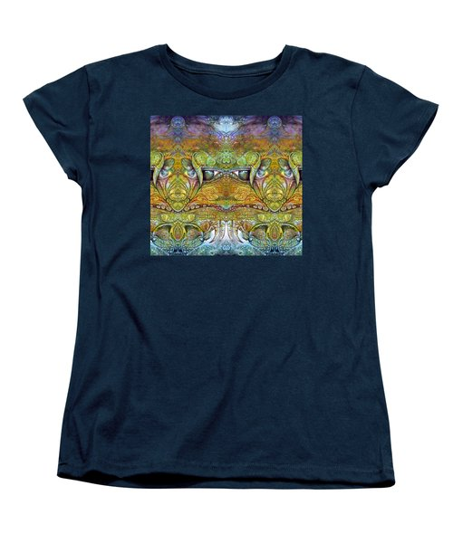 Women's T-Shirt (Standard Cut) featuring the digital art Bogomil Variation 12 by Otto Rapp