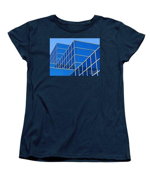 Women's T-Shirt (Standard Cut) featuring the photograph Boldly Blue by Ann Horn