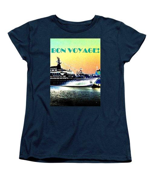 Bon Voyage Women's T-Shirt (Standard Cut) by Will Borden