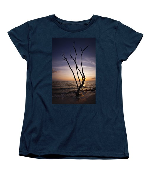 Women's T-Shirt (Standard Cut) featuring the photograph Bonita Beach Tree by Bradley R Youngberg