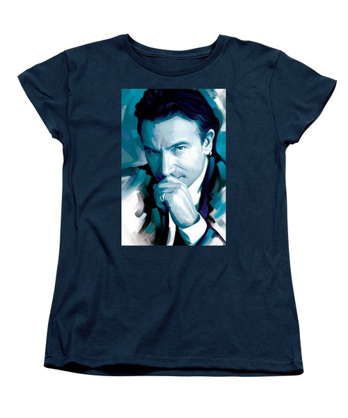 Bono U2 Artwork 4 Women's T-Shirt (Standard Cut) by Sheraz A