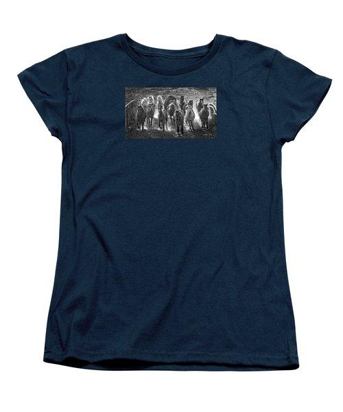 Boss Hoss Women's T-Shirt (Standard Cut) by Joan Davis