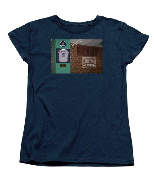Boston Strong Women's T-Shirt (Standard Cut) by Tom Gort
