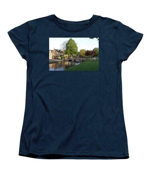 Bourton On The Water 2 Women's T-Shirt (Standard Cut) by Ron Harpham