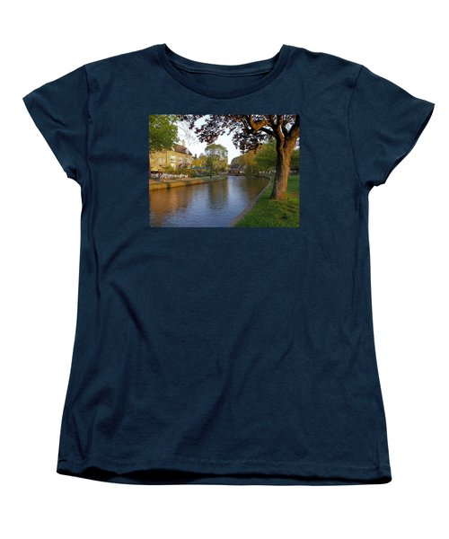 Bourton On The Water 3 Women's T-Shirt (Standard Cut) by Ron Harpham