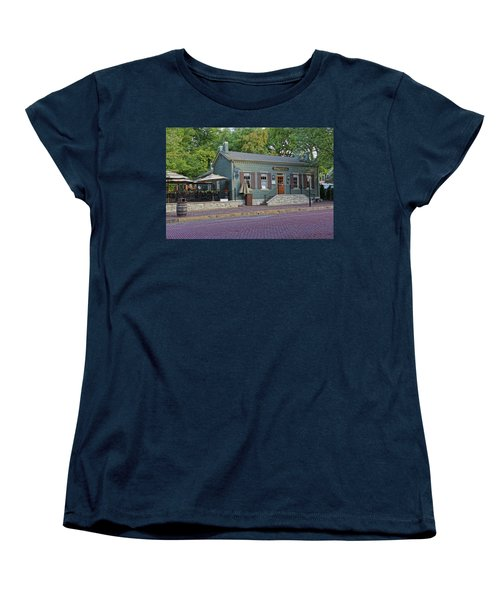 Braddens Main Street St Charles Mo Dsc00874  Women's T-Shirt (Standard Cut) by Greg Kluempers