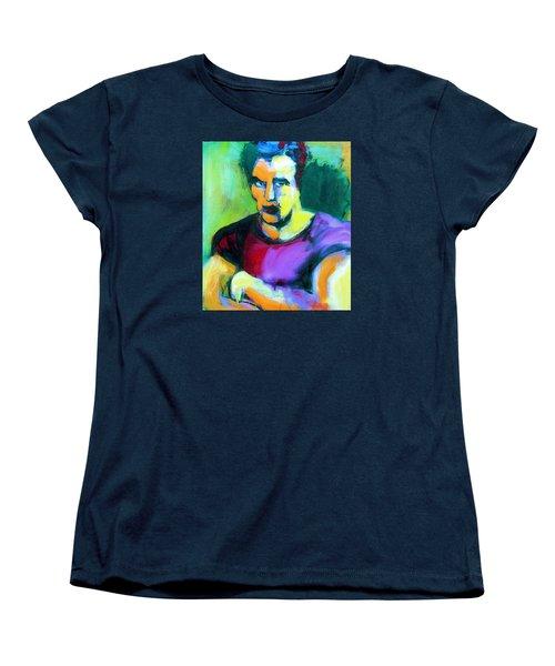 Brando Women's T-Shirt (Standard Cut) by Les Leffingwell