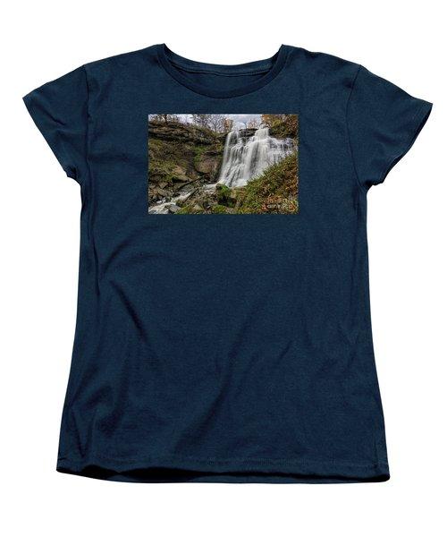 Brandywine Falls Women's T-Shirt (Standard Cut) by James Dean