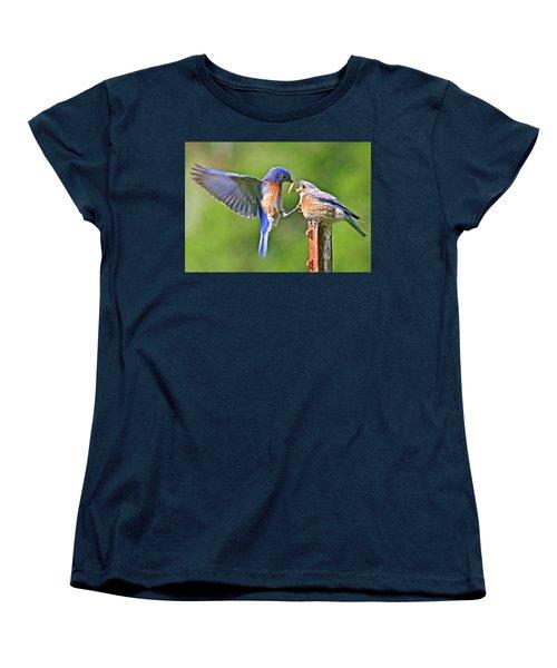 Breast Feeding. Women's T-Shirt (Standard Cut) by Jean Noren