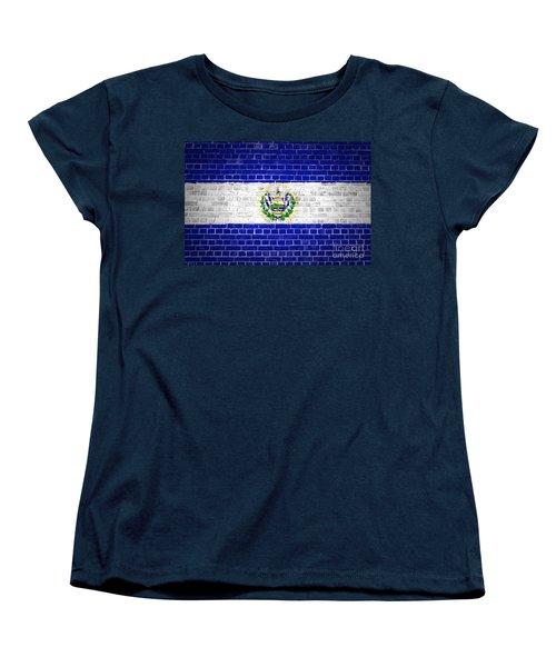 Brick Wall El Salvador Women's T-Shirt (Standard Cut) by Antony McAulay