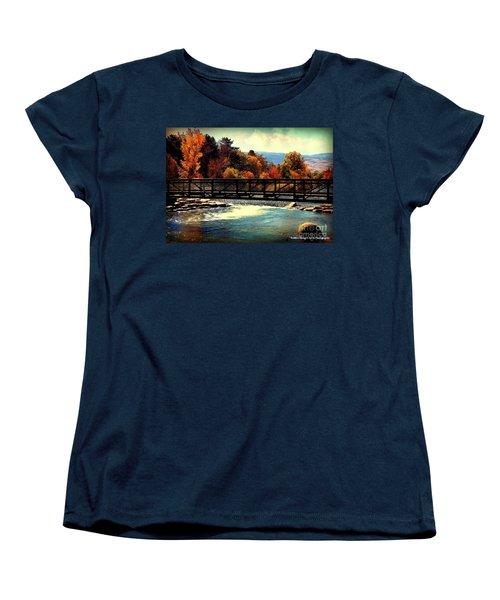 Bridge Over The Truckee River Women's T-Shirt (Standard Cut) by Bobbee Rickard