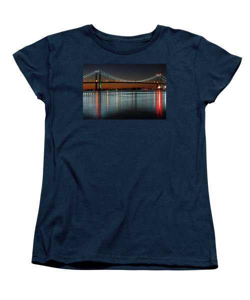 Suspended Reflections Women's T-Shirt (Standard Cut) by James Kirkikis