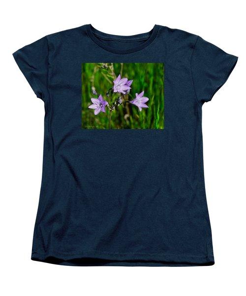 Women's T-Shirt (Standard Cut) featuring the photograph Bridges' Triteleia by Jim Thompson