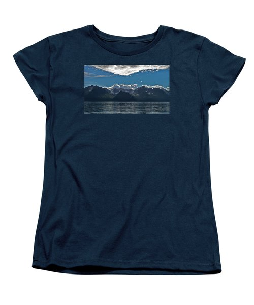 Women's T-Shirt (Standard Cut) featuring the photograph Bright And Cloudy by Aimee L Maher Photography and Art Visit ALMGallerydotcom