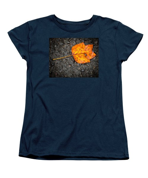 Bright Dark And Alone Women's T-Shirt (Standard Cut) by Melinda Ledsome