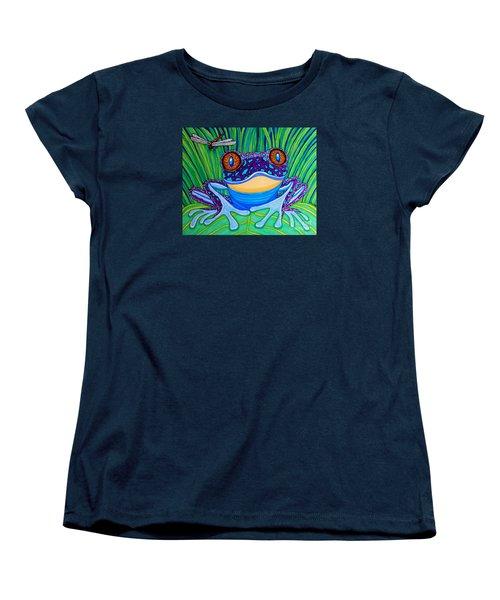 Bright Eyed Frog Women's T-Shirt (Standard Cut)
