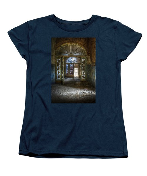 Broken Beauty Women's T-Shirt (Standard Cut) by Nathan Wright