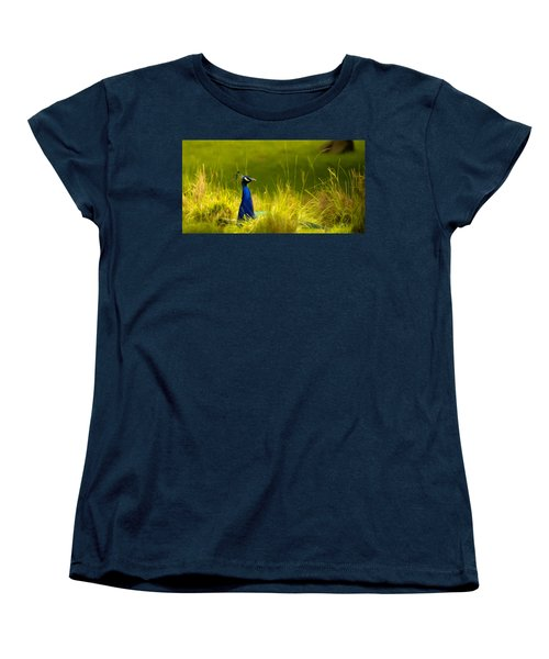 Bronx Zoo Peacock Women's T-Shirt (Standard Cut)