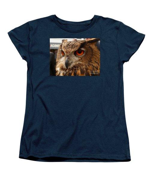 Brown Owl Women's T-Shirt (Standard Cut) by Vicki Spindler