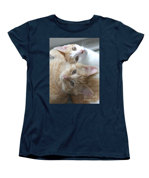 Buddies For Life Women's T-Shirt (Standard Cut) by Living Color Photography Lorraine Lynch